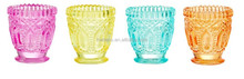 2015 NEW SPRING GLASS CANDLE HOLDER and tea light holder