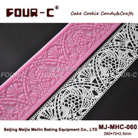 Newest silicone lace mat,cake lace mould,cake decor supplies