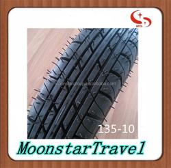 cheap price three wheel motorcycle tyre 1.35-10 keeway motorcycle parts