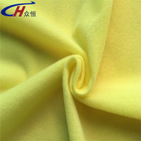 polyester loop cloth fabric single brushed for velcro and garments lining