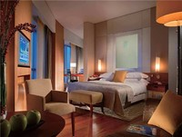 Modern wooden furniture bedroom design for star hotels RMSHT