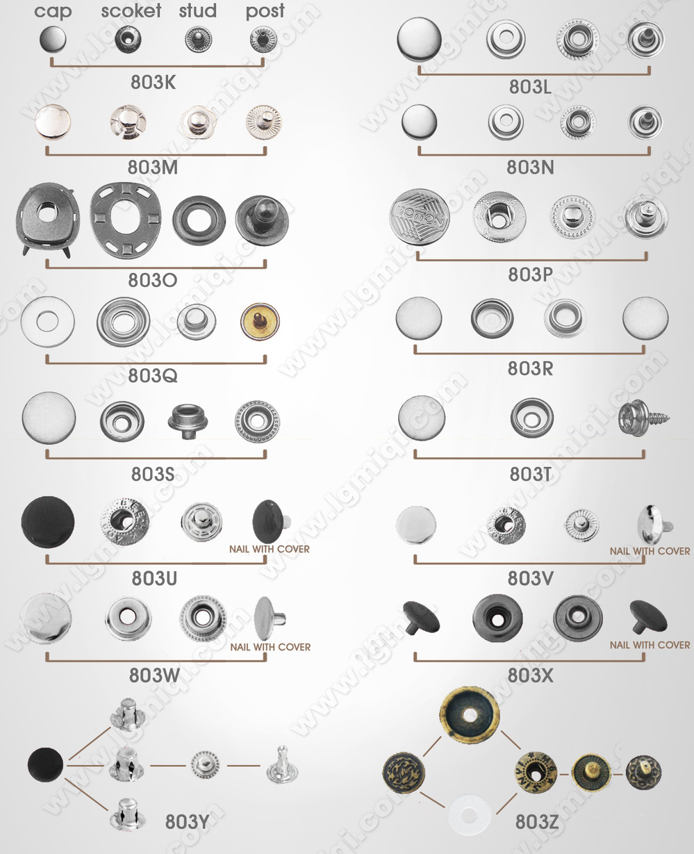 Hidden Snap Button Ring