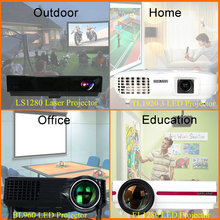 MOQ 1PC LED LCD/DLP mini hd projector/short throw projector 4000 lumens
