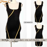 2012 New arrival hot selling sexy pictures of fashion ladies casual night dresses DD0005#