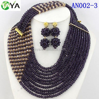 new new fashion african beads heavy jewelry set wholesale