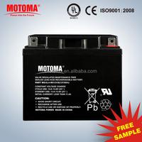 12v 38Ah VRLA AGM rechargeable Battery Solar ups Storage Batteries