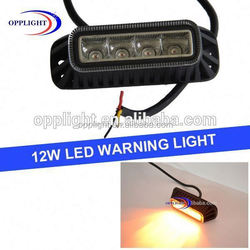 Truck led flashing warning light magnetic 12w motorcycle warning light ppolice