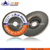 silicon flap disc special for grinding non-ferrous metals