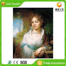 Figure painting, interior decoration painting paint by number kits oil painting