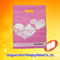 customized printed punching hole carrier polythylene bags