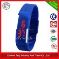R0775 nuevos tiempos del reloj del reloj digital, material de TPU diseño del reloj