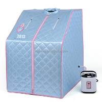 Direct Buy China Alibaba Wholesale High Quality Portable Sauna Room One Person Portable Steam Sauna Room LOW MOQ