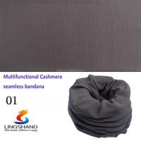 Wholesale fashion scarves Knitted neck warmer custom bicycle plain tube bandana cashmere