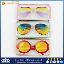 [NP-2365] Sunglasses 2 in 1 Electroplating Bumper Case for iPhone 6 / for Samsung S6/S5/Note 5