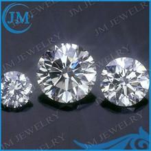 Synthetic White 9mm Round Shaped CZ Gemstone