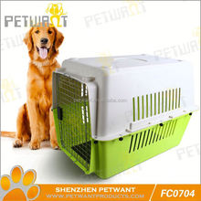 dog crate lean-to roof wooden dog kennel