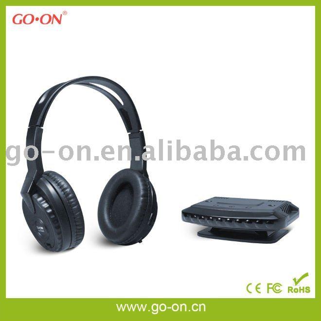 Fm / VHF inalámbrico de auriculares con Radio y micrófono