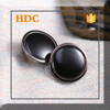 2015 ring fastener black 20 mm metal snap button from china for shirt