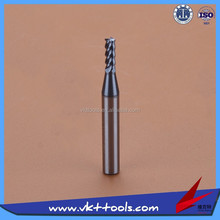 VKT-----55HRC Helix Angle Carbide end mill Cutter cutting tools ------ (1-4)*50
