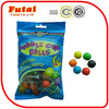 6 fruit flavors 8g individually wrapped ball bubble gum