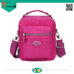 high quality waterproof nylon shoulder long strip bag leisure messenger bag for nice design