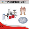 Disposable plastic glove making machine for restaurant use in India