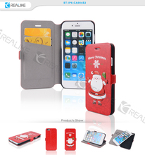 Best christmas gift santa claus phone case for iphone 6