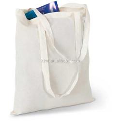 Custom printing trade blank cotton wholesale tote bag