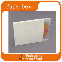 CD DVD wedding DVD music DVD paper case wholesale