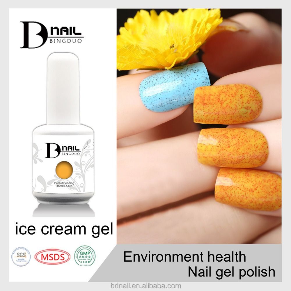 Logo Custom Made Nail Gel Polish-ice Cream Gel Nail Polish