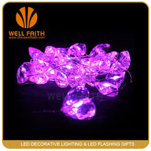 Fancy pearl LED string lingt,popular used by Christmas decoration