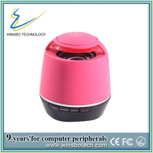 Newest round bluetooth speaker with microphone handsfree functions