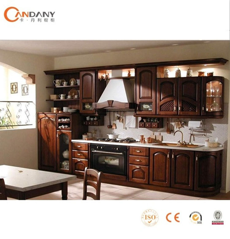 Wood Kitchen Equipment : Hot sale solid wood kitchen cabinet wooden