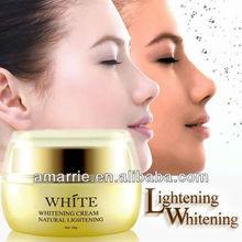 Private label creme de clareamento natural cuidados com a pele hidratante suavização de ervas branqueamento creme para o corpo