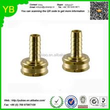Custom Brass garden hose fittings female swivel fittings, hose barb