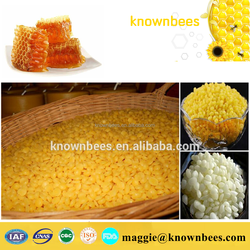 Hot Sale! Pure natural honey yellow & white refined beeswax in block or pellets