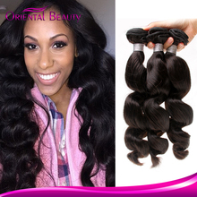 Superstar Cheap fashionable peruvian human hair extension 8A grade loose wave hair