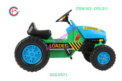 tractor and truck plastic toy cars for kids pedal kids ride 311