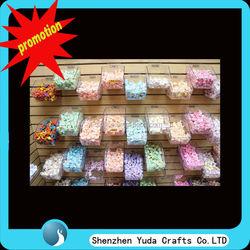 acrylic taffy slatwall containers slatwall candy store containers China slatwall store