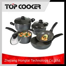 8PCS non-stick flower pots wholesale cookware set