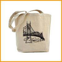 Wholesale Reusable Eco Friendly Tote Canvas Shopping Bag