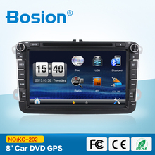 Good quality windows CE stereo car with 8 inch touch screen with radio bluetooth RDS SWC GPS