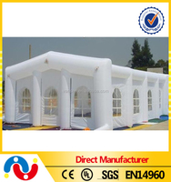2015 High Quality 0.55mm PVC Tarpaulin 15x20m Inflatable White Wedding Party Tent for Sale