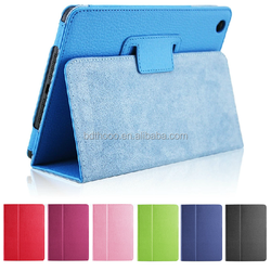 genuine leatehr top case for ipad case, for ipad mini case