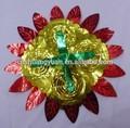 forma de girasol pet oropel navidad guirnalda de flores