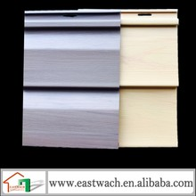 walnut and Golden wood color with wood grain looks wall siding panels vinyl siding cheap pvc wall board
