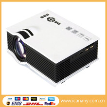 Original New Unic UC40 800x480 Mini LED Projector, Home Theater Cinema Projector, Business Projector Support 1080P HDMI AV USB