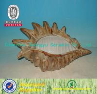 ceramic gift home decoration conch handicraft