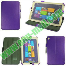 Smart Cover flip leather case for acer iconia w3