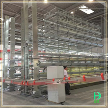 high quality poultry farm equipment hot dipped galvanized plastic chicken coops price bird breeding cage
